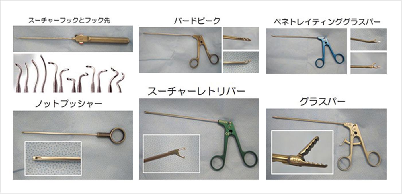 図7.関節鏡用の器具
